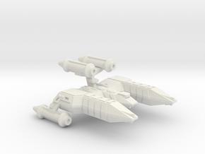 3788 Scale Lyran Refitted Top-Alleycat CVN in White Natural Versatile Plastic