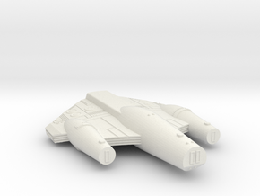 3788 Scale ISC Dreadnought (DN) SRZ in White Natural Versatile Plastic