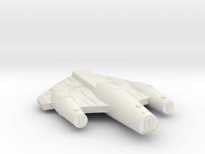 3125 Scale ISC Dreadnought (DN) SRZ in White Natural Versatile Plastic
