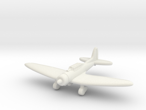 D3A Val Fighter Bomber w/ Bomb (Japan) in White Natural Versatile Plastic