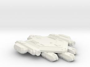 3788 Scale Orion Heavy War Destroyer (HDW) CVN in White Natural Versatile Plastic