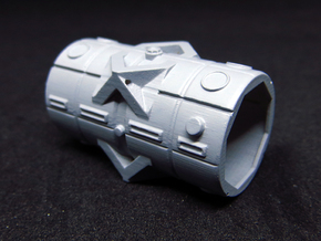 BYOS PART FRAME CYLINDER MODULE in Smooth Fine Detail Plastic