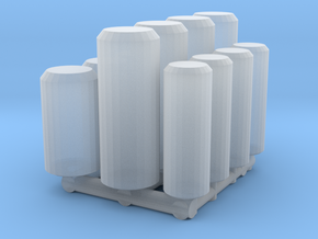 1/24 beverage cans in Smooth Fine Detail Plastic