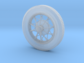 1/25 1/24 20's and 30's hot rod wirewheel in Smooth Fine Detail Plastic
