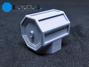BYOS PART CREW MODULE in Smooth Fine Detail Plastic