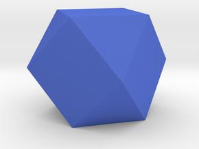 Tridecagon Planter in Blue Processed Versatile Plastic