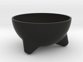 Molcajete Planter in Black Natural Versatile Plastic