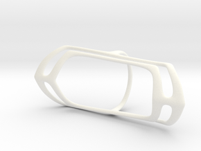 Splints - Oval (20 mm) in White Processed Versatile Plastic