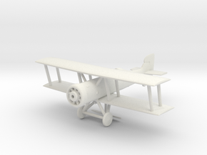 Marodi PA.28 Fighter Plane in White Natural Versatile Plastic