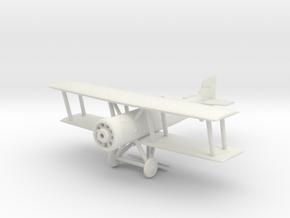 Marodi PA.28 Fighter Plane in White Natural Versatile Plastic