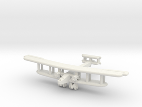 Handley Page Type O (British) UK in White Natural Versatile Plastic