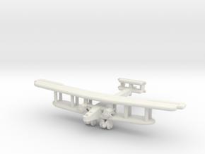 Handley Page Type O (British) UK in White Premium Versatile Plastic