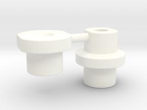 Snackbar Mod v3 Locators in White Processed Versatile Plastic