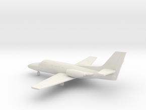 Cessna 500 Citation I in White Natural Versatile Plastic: 1:200