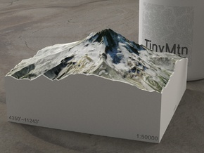 Mt. Hood, Oregon, USA, 1:50000 Explorer in Full Color Sandstone