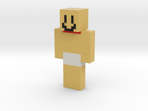 tra la laaaaaaaa | Minecraft toy in Natural Full Color Sandstone