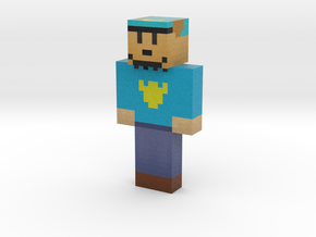 dog_man | Minecraft toy in Natural Full Color Sandstone