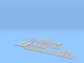 HOF072 - Optional HD frames in Smooth Fine Detail Plastic