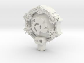 Gigantion/Giant Planet 5mm Cyberkey in White Natural Versatile Plastic