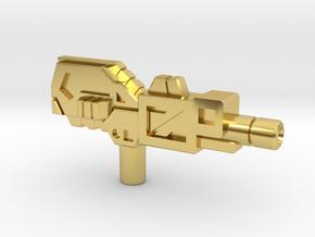 Octopunch's Acetylene Torch Gun, 5mm in Polished Brass