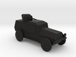 AV843 Armored Car in Black Natural Versatile Plastic