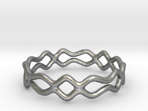 Ring 08 in Natural Silver