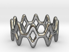 Ring 11 in Polished Silver