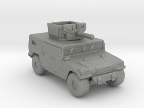 M1116 220 scale in Gray Professional Plastic