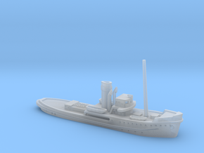 1/500th scale Shkval soviet tug boat in Smooth Fine Detail Plastic