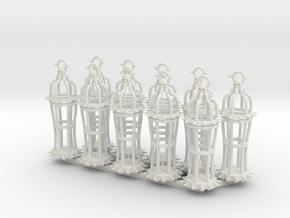 Gibbet type 2 x10 in White Natural Versatile Plastic