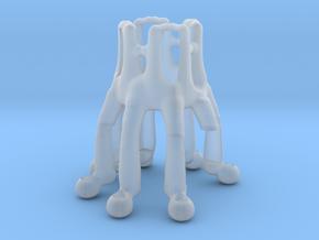 Octopus Arduino NEMA Motor Holder in Smooth Fine Detail Plastic