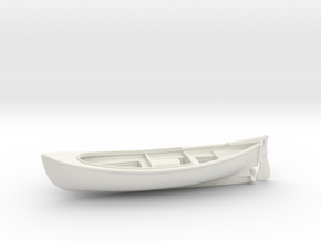 1/43 USN 26ft Whaleboat in White Natural Versatile Plastic