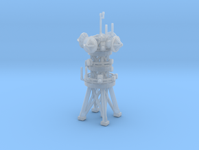 Antenna tower in Smooth Fine Detail Plastic