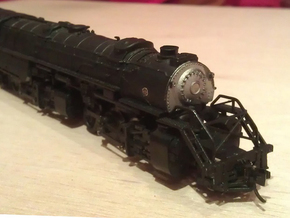 Rowa Y6B Pilots With Z & N Scale MT Couplings in Smooth Fine Detail Plastic