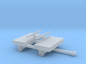1/144 Scale Bomb Cart 1 in Smooth Fine Detail Plastic