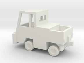 1/144 Scale NATO Hanger Tractor in White Natural Versatile Plastic