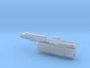 USS Parche SSN-683 Special Op. version 1/350 scale in Smooth Fine Detail Plastic
