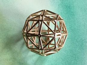 Mathball in Polished Gold Steel