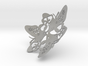 Butterfly Bowl 1 - d=9cm in Aluminum