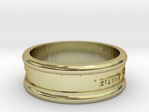 Model-6b2237d24ebf428d889af627cb39cb1b in 18k Gold