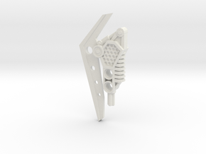 Gravity Blade in White Natural Versatile Plastic