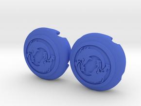 Hanzo Double Dragon in Blue Processed Versatile Plastic