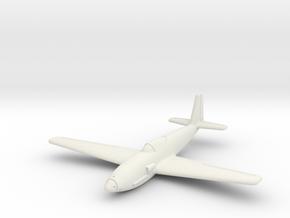 (1:144) Heinkel P.1076 in White Natural Versatile Plastic