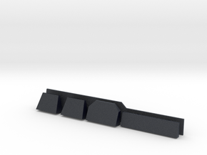 1/96 scale Burke Detail's - Radar Shelves in Black Professional Plastic