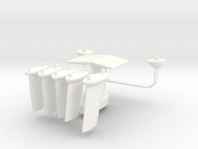 1.6 A10 COMBO ANTENNAS in White Processed Versatile Plastic