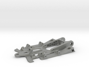 748sr spec racer - 1/32  slot car chassis in Gray Professional Plastic
