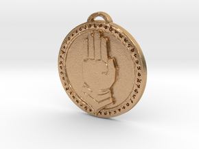 Silver Hand Faction Medallion in Natural Bronze