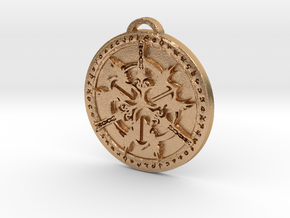 Warrior Class Medallion in Natural Bronze