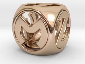 Master D6 in 14k Rose Gold