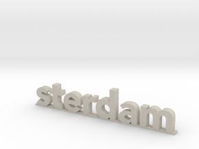 I amsterdam (2/2) in Natural Sandstone